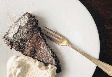 Schwedische Schokoladen Kuchen